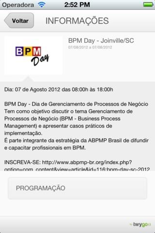 BPM Day SC