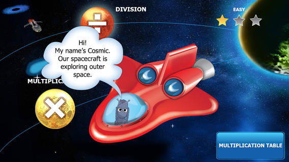 Space Mathematics: Multiplication and Division