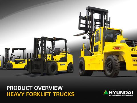 Hyundai Heavy Forklift Trucks