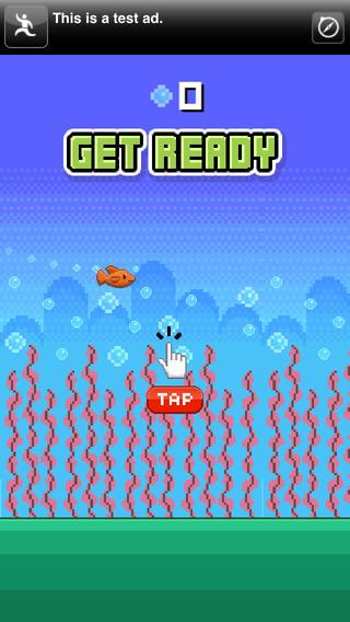 Jumpy Fish - Adventure of a tiny flappy fish.