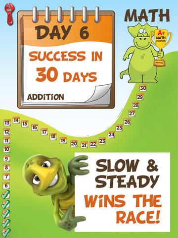 A+ Math Success in 30 days: Addition HD FREE