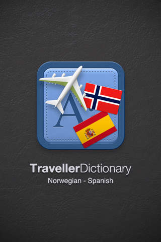 Traveller Dictionary and Phrasebook Norwegian - Spanish