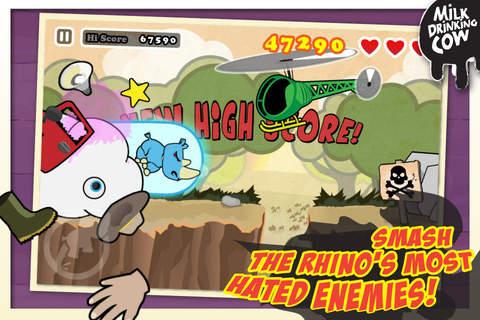 玩免費遊戲APP|下載愤怒的犀牛横冲直撞免费 app不用錢|硬是要APP
