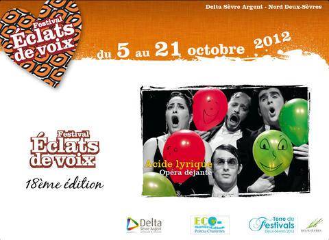 Festival Eclats de Voix 2012