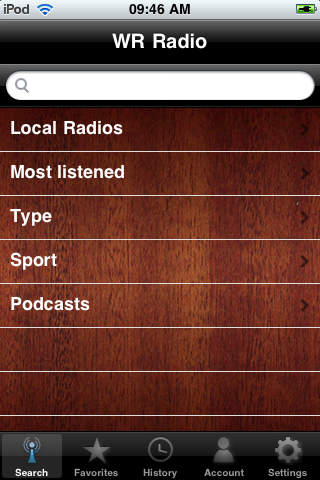 WR DR Congo Radios screenshot 4