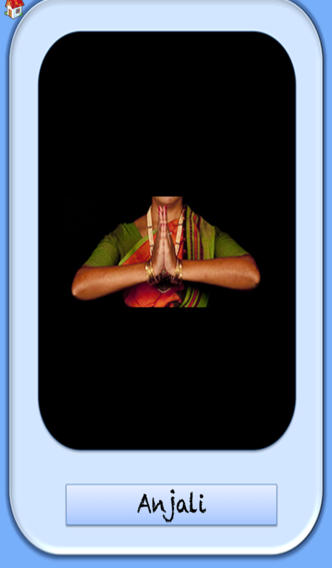 B-Natyam Flash Cards - Double Hand Gestures Samyuta Hastas