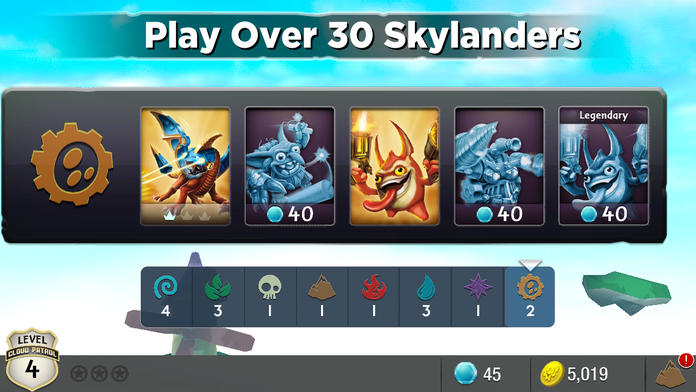 Skylanders Cloud Patrol™ - iPhone Mobile Analytics and App Store Data