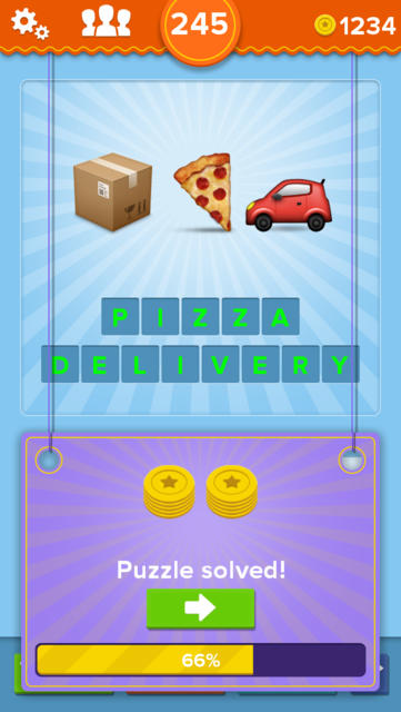 EmojiNation – guess the puzzle interpreted by Emoji emoticons! - iPhone Mobile Analytics and App Store Data