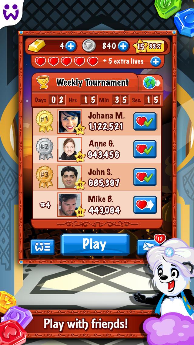 Diamond Dash  Screenshot