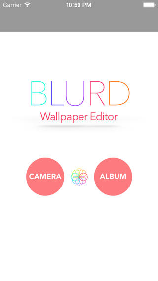 Blured Wallpaper Editor