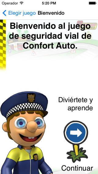 Seguridad Vial iPhone Screenshot 1