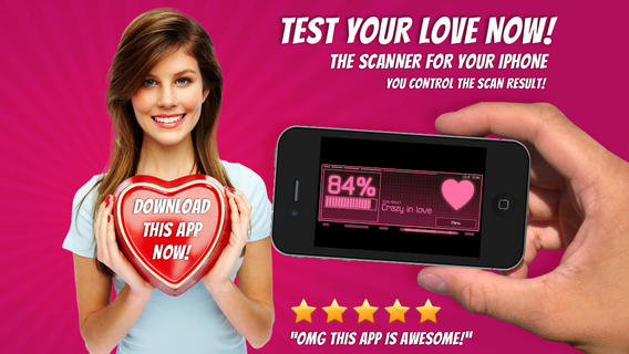 Love Scanner Calculator and Tester - the best meter to scan and test love compatibility