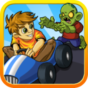 Zombie Go Kart Road Chase Race Free - Easy Kids Arcade Car Racing by Top Crazy Games mobile app icon