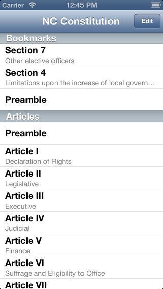 NC Constitution