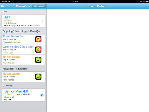 My Tennis World Live iPad Screenshot 4