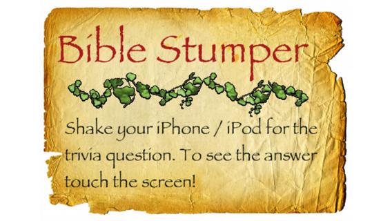 Bible Stumper: Trivia for the Soul