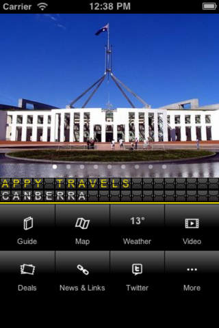 Canberra Travel Companion ‒ Appy Travels