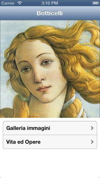 Botticelli per immagini SbS