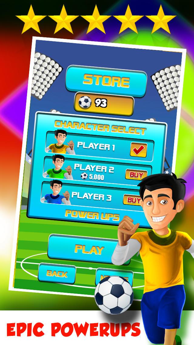 A Brazil World Soccer Football Run 2014: Road to Rio Finals  Screenshot