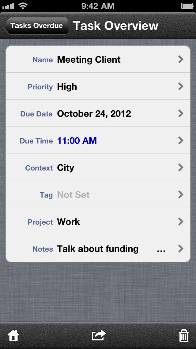 Do - Task Manager (with Dropbox support) screenshot