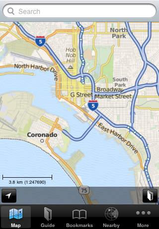 San Diego Offline Map Guide