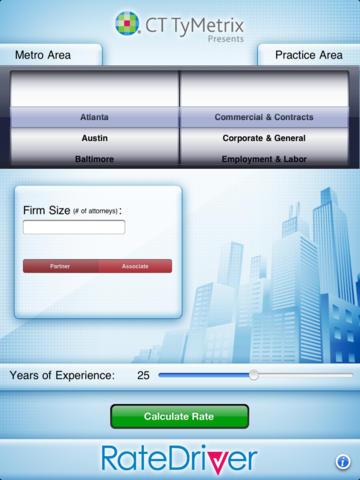 RateDriver for iPad