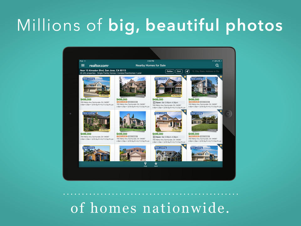 Realtor.com Real Estate - Homes for Sale and Apartments for Rent - iPhone Mobile Analytics and App Store Data