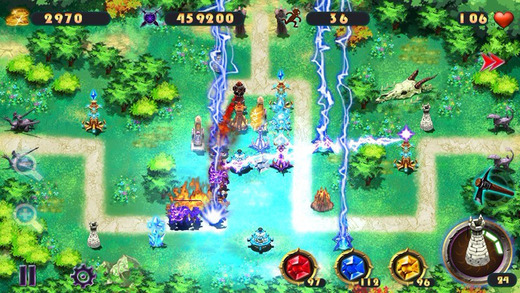 Epic Defense TD - the Elements 玩遊戲App免費 玩APPs
