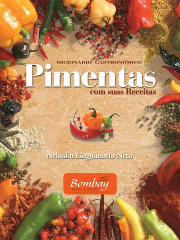 Dicionário Gastronômico Pimentas com suas Receitas
