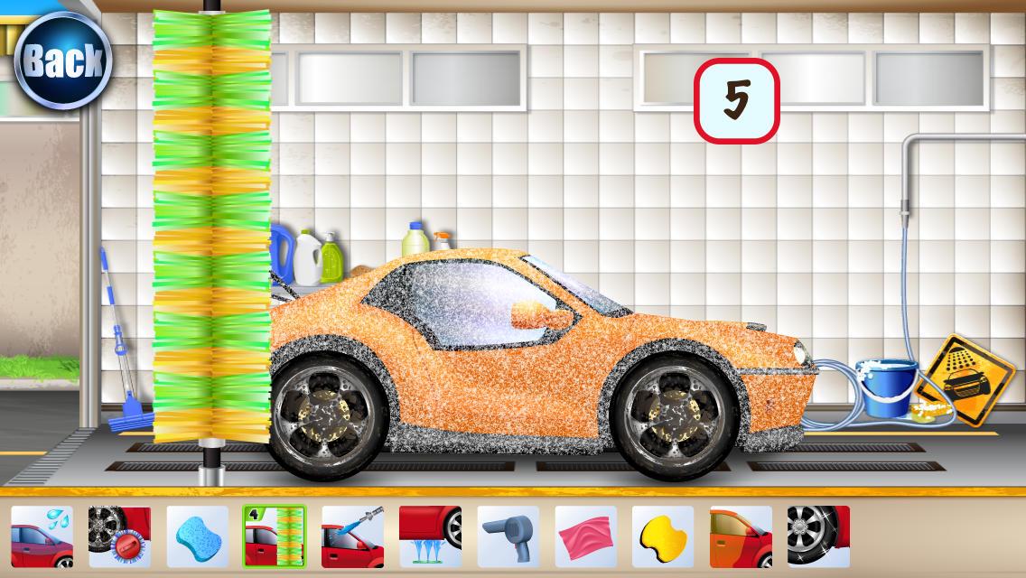 car wash games