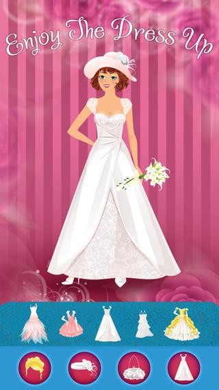 完美婚纱精品 - 广告免费装扮游戏的女孩