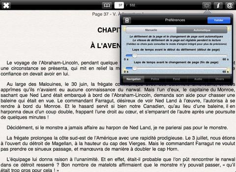 Vingt Mille Lieues sous les Mers (+ Illustrations) iPad Screenshot 2