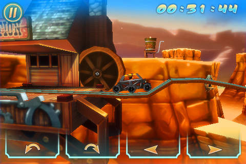 Wild West 3D Rollercoaster Rush FREE