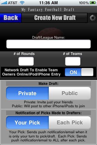 My Fantasy Football Draft - Draft Bonus Edition screenshot 2