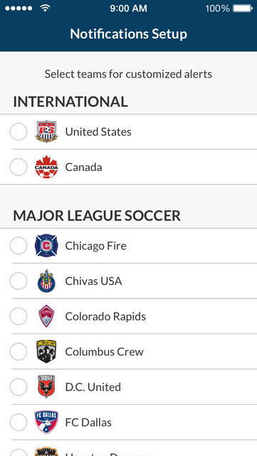 MLS Matchday - iPhone Mobile Analytics and App Store Data
