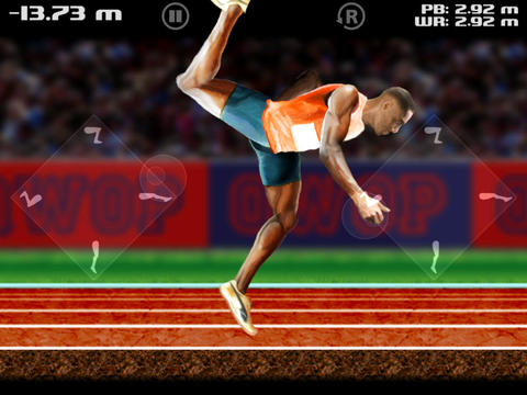 QWOP for iOS iPad Screenshot 1