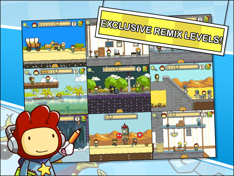Scribblenauts Remix - iPhone Mobile Analytics and App Store Data