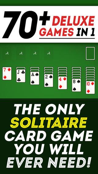 Solitaire 70+ Games in 1 Deluxe Version