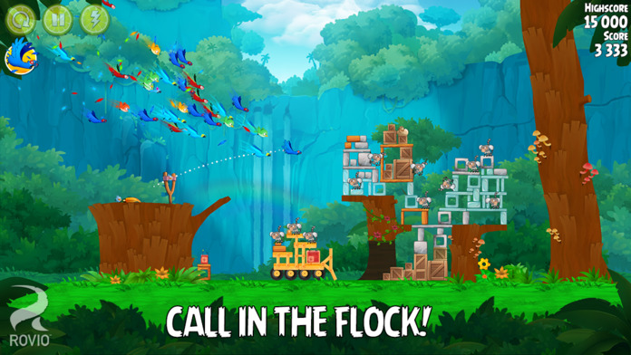 Angry Birds Rio - iPhone Mobile Analytics and App Store Data
