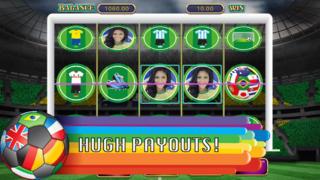 Las Vegas World Soccer Cup Slot Machine Game  Screenshot