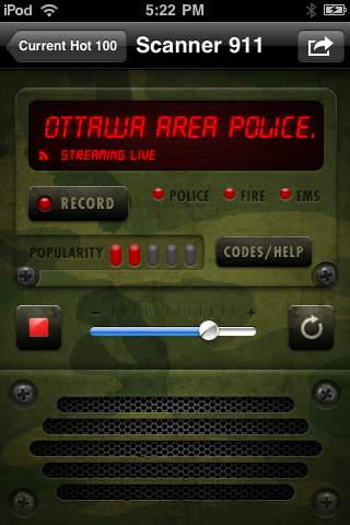Scanner911 Canadian Police Radio Pro