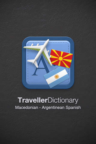 Traveller Dictionary and Phrasebook Macedonian - Argentinean Spanish