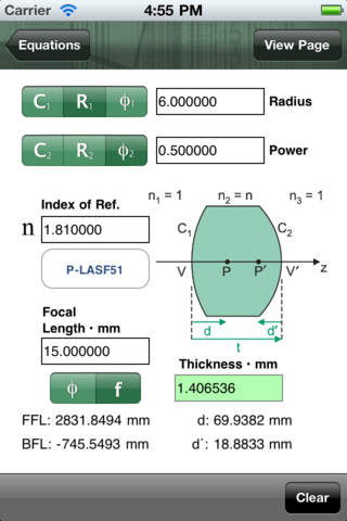 SPIE Field Guide to Geometrical Optics (Full) iPhone Screenshot 4