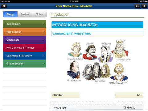 Macbeth York Notes GCSE for iPad