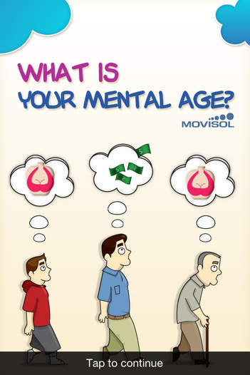 What is your mental age?: discover how old your mind is - iPhone Mobile Analytics and App Store Data