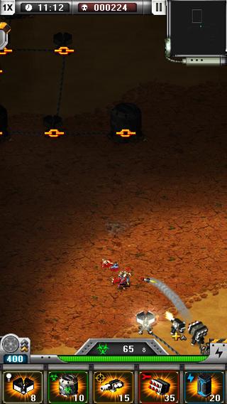 BioDefense: Zombie Outbreak iPhone Screenshot 3