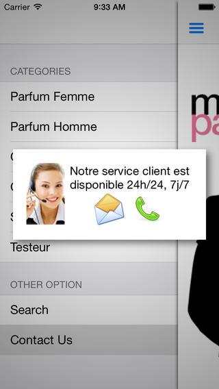 MISTER PARFUM iPhone Screenshot 4