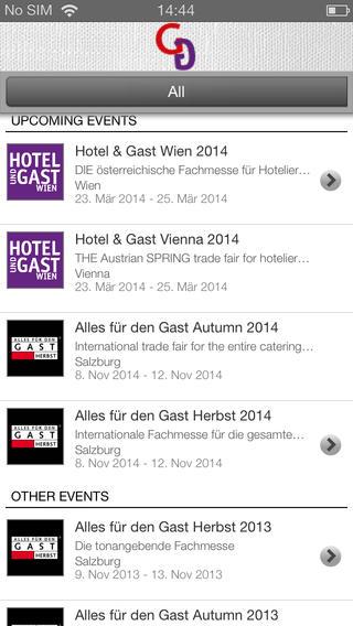 Hospitality shows – Guide 2014