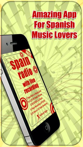 Spain Radio - With Live Recording