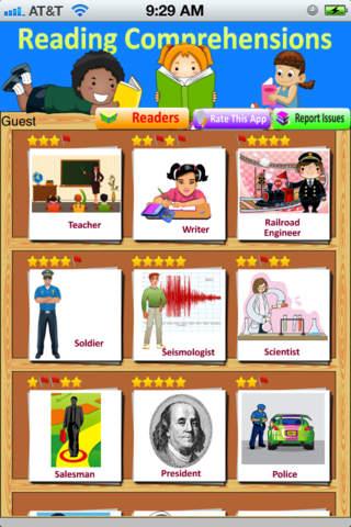Reading Comprehension - Grade 2 3 4 - On the Job - Super Reader